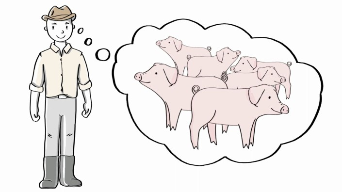 Project Overcoming PWD in piglets Animation
